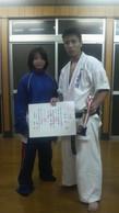 2010年11月23日 第9回オープントーナメント福岡県空手道選手権大会の画像